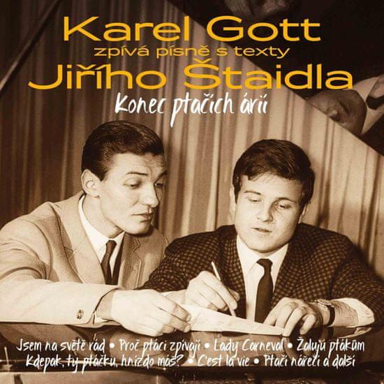 Gott Karel: Konec ptačích árií - Karel Gott zpívá písně s texty Jiřího Štaidla (3x CD) - CD