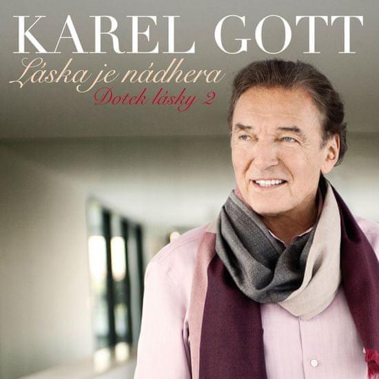 Gott Karel: Láska je nádhera (Dotek lásky 2) - CD