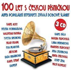100 let s českou písničkou aneb Populární interpreti zpívají dobové šlágry (3x CD) - CD