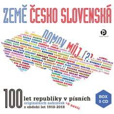Země československá, domov můj (5x CD) - CD