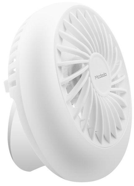 Mcdodo Mini USB Fan větráček na stůl, bílá, CF-1650