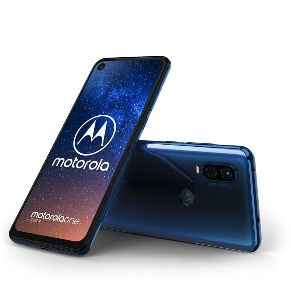 Motorola One Vision, 4GB/128GB, Sapphire Gradient