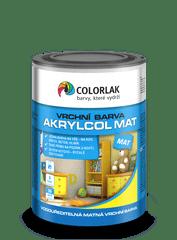 COLORLAK AKRYLCOL MAT V2045, Bílá C1000, 0,6 L