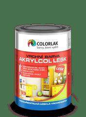 COLORLAK AKRYLCOL LESK V2046, Bílá C1000, 0,6 L