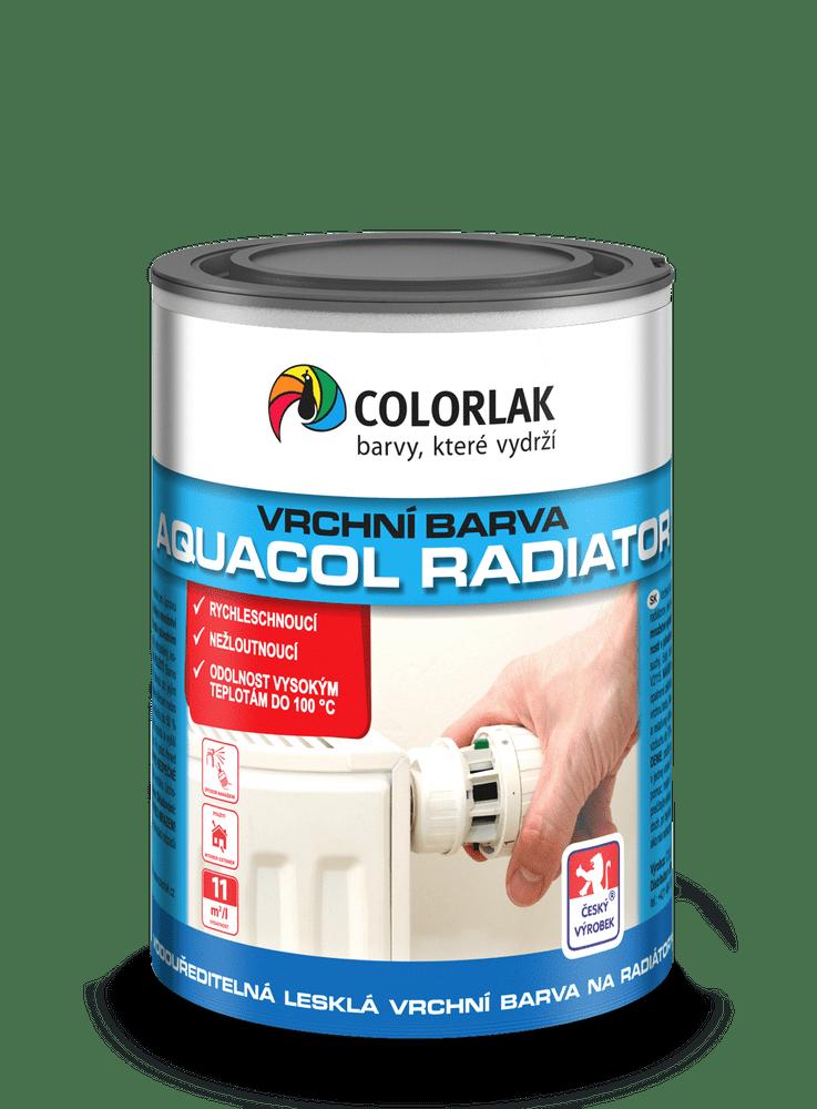 COLORLAK AQUACOL RADIATOR V2077, Bílá C1000, 0,6 L