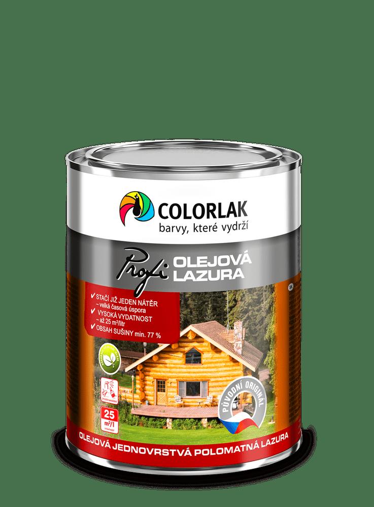 COLORLAK Olejová lazůra O1020 - Teak T0023, 0,75 l