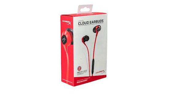 HyperX Cloud ušesne slušalke, z mikrofonom, rdeče