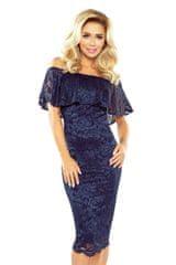 Morimia Ženska obleka 013-4, temno modra, S