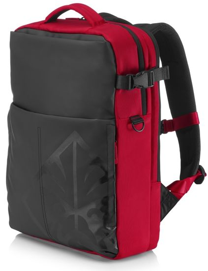 HP nahrbtnik za prenosnik Omen 17, črno rdeč