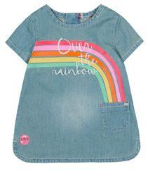Boboli dívčí džínové šaty 68 modrá
