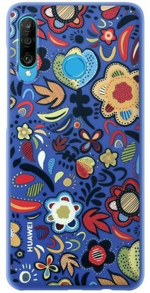 Huawei Ochranný kryt pro P30 Lite Flower Blue, 51993074