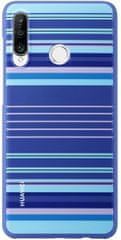 Huawei Striped ovitek za P30 Lite, moder