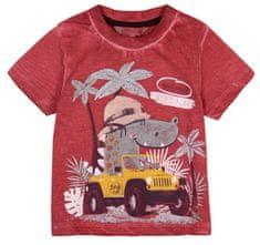 Boboli chlapecké tričko 62 cihlová