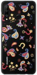 Huawei maska Floral za Huawei P30 Lite, crna