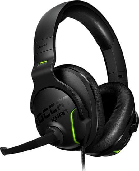 ROCCAT słuchawki Khan AIMO, czarne (ROC-14-800)