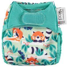 Pop-in pieluszka dla noworodków, Red Panda