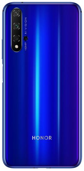 Honor 20 (Yale-L21A) mobilni telefon, DS, 128GB, safirno moder, EEA