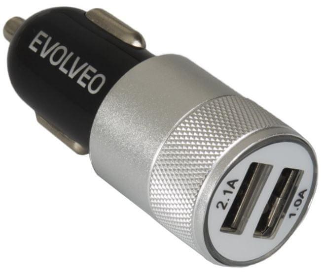 Evolveo Dual USB nabíječka do auta, MX220,