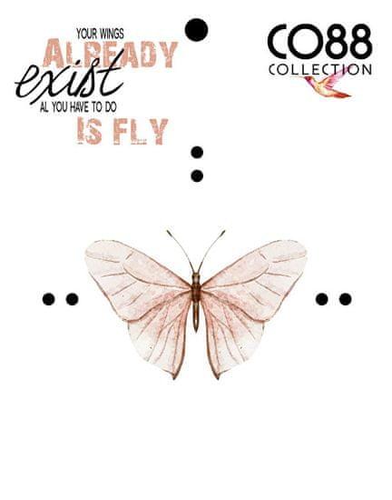 CO88 Jadeitowa bransoletka z drzewem życia iz motylem 865-180-090001-0000