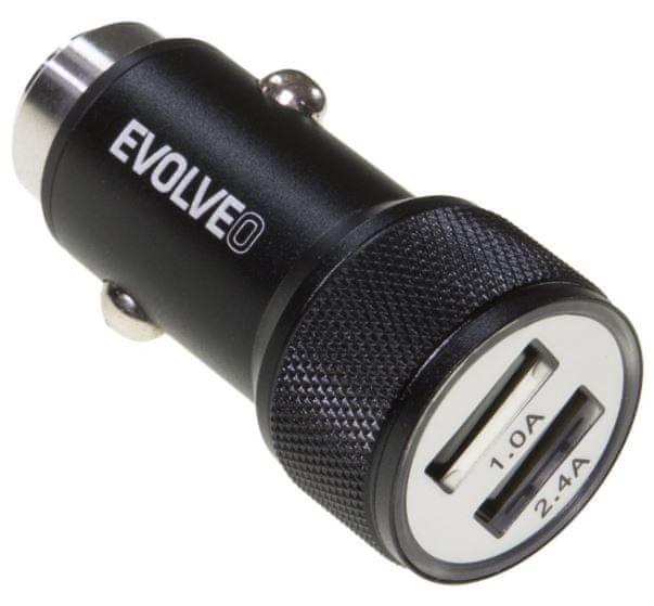 Evolveo Dual USB nabíječka do auta, MX240
