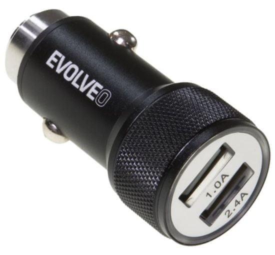 Evolveo Dual USB nabíjačka do auta, MX240
