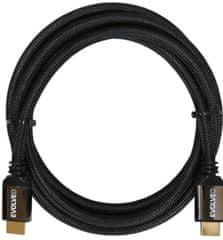 Evolveo XXtremeCord, przewód HDMI 2.1, 1 m, 8K ULTRA HD, 4K, 2K i FHD, przepustowość 48 Gb/s, XXTR1M2.1