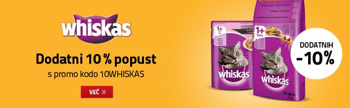 Whiskas / Dodatni 10% popust