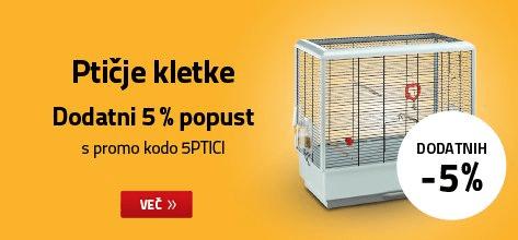 Ptičje kletke dodatnih 5% ceneje