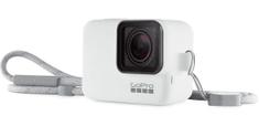 GoPro silikonska maska Sleeve & Lanyard, bijela (ACSST-002)