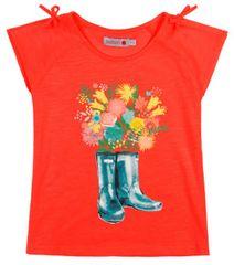 Boboli dívčí tričko 98 oranžová