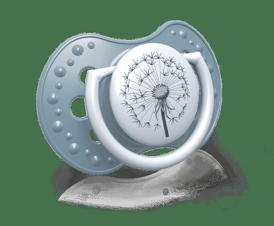 LOVI dinamična silikonska duda BOTANIC, 0-3 m, 2 kosa