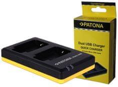 Nabíjačka Foto Dual Quick Sony NP-FW50 USB, PT1964