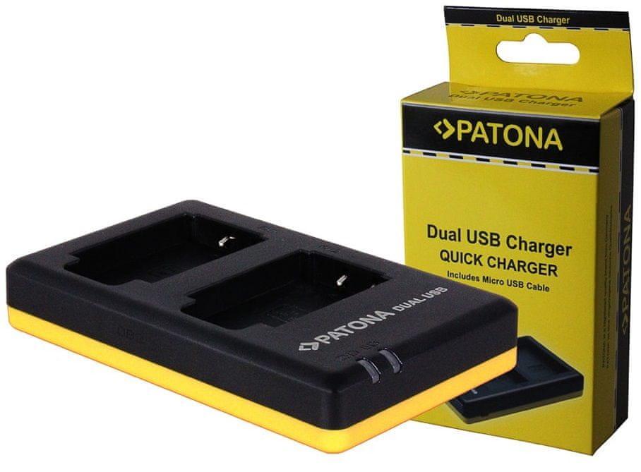 PATONA Nabíječka Foto Dual Quick Sony NP-BX1 USB, PT1974