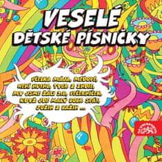 Veselé dětské písničky (2x CD) - CD