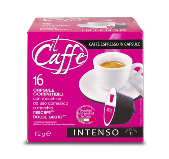 CAFFÉ CORSINI Intenso 16 kapsúl