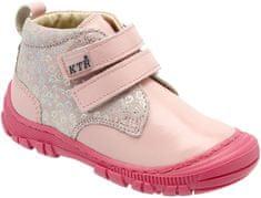 KTR lány bokacipő 20 világos rózsaszín