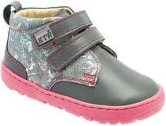 KTR dívčí kotníkové boty 30 šedá