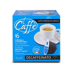CAFFÉ CORSINI Expresso bez kofeinu 16 kapslí