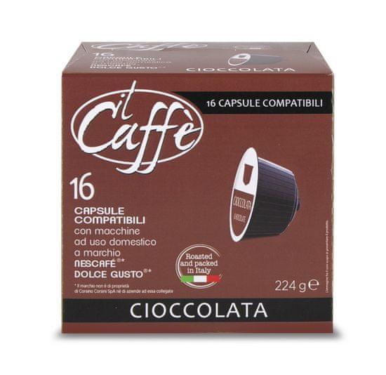CAFFÉ CORSINI Čokoláda 16 kapslí