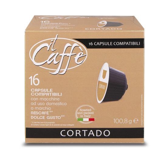 CAFFÉ CORSINI Cortado 16 kapslí