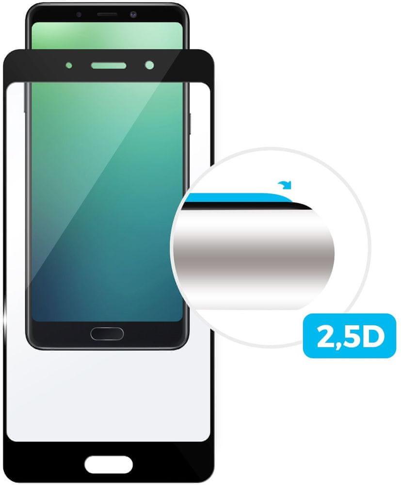 Fixed Ochranné tvrzené sklo Full-Cover pro Samsung Galaxy A40 FIXGFA-400-BK, černé