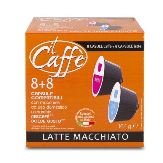 CAFFÉ CORSINI Latté Macchiato 16 kapslí