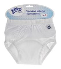 XKKO Tréningové nohavičky Organic biela S