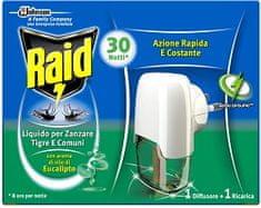 Raid električni aparat – tekoče polnilo, evkaliptus 21 ml