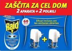 Raid električni aparat – tekoč, 2 x 21 ml