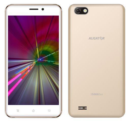 Aligator S5066 Duo, 1GB/8GB, zlatý