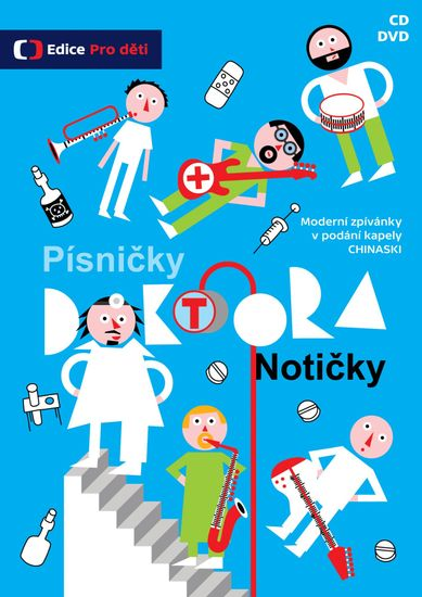 Chinaski: Písničky doktora Notičky (CD+DVD) - CD+DVD