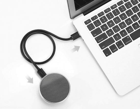 Ugreen USB 3.0 podaljšek (M na M), 0,5 m, črn