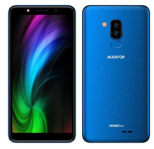Aligator S6000 Duo, 1GB/16GB, modrý