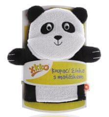 XKKO myjka z pacynką Panda - biała